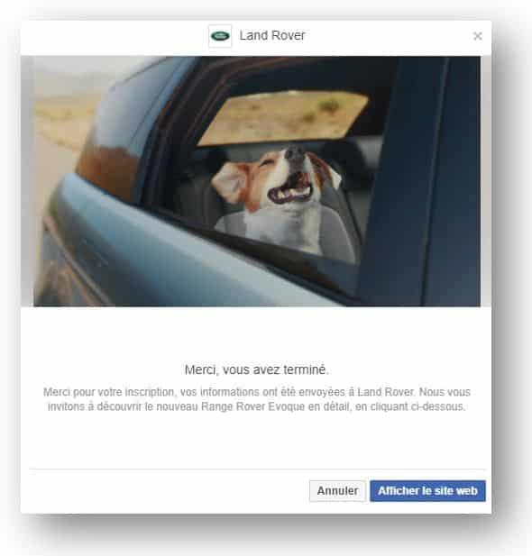 générer des leads sur Facebook