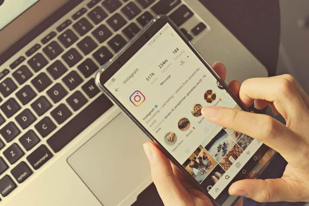 publicité pour instagram