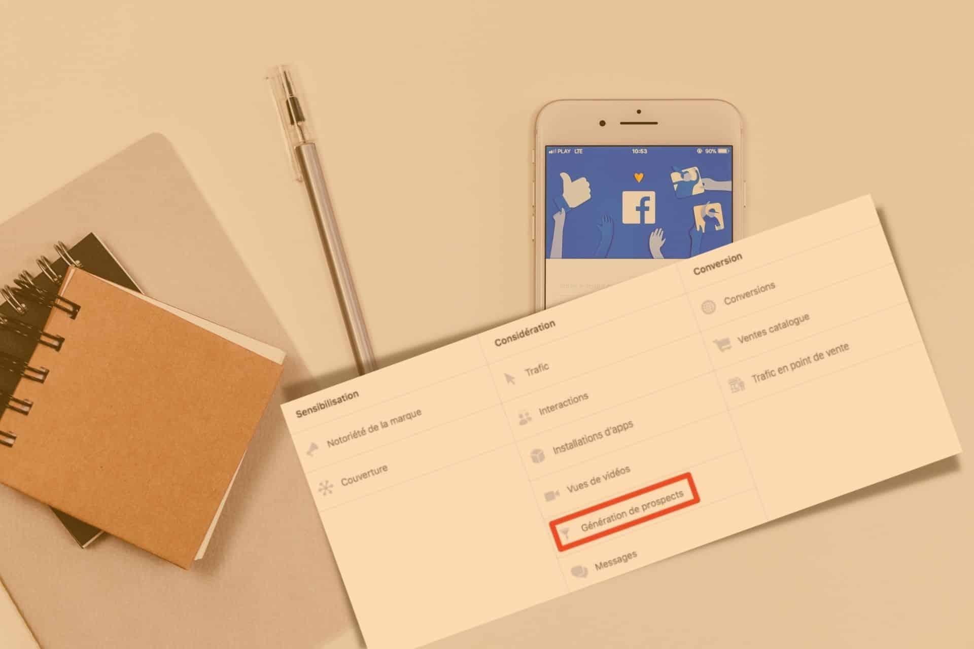 traiter les prospects générer par les campagnes lead generation facebook